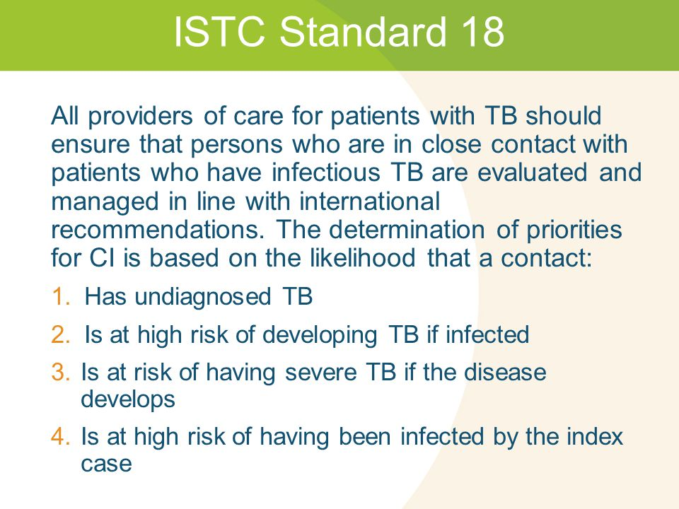 Caribbean Guidelines for the Prevention, Treatment, Care, and Control of Tuberculosis and TB/HIV