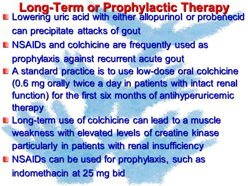 Long-Term or Prophylactic Therapy