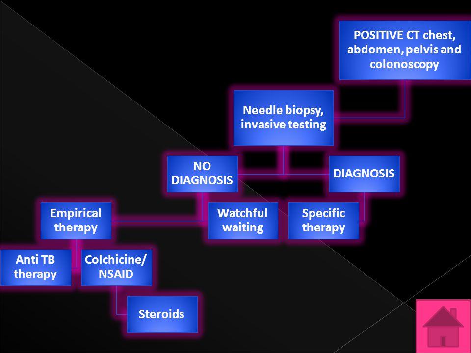 POSITIVE CT chest, abdomen, pelvis and colonoscopy