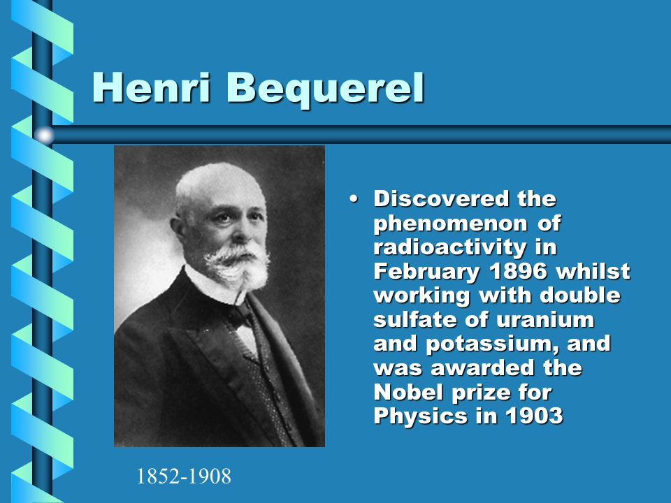 Henri Bequerel