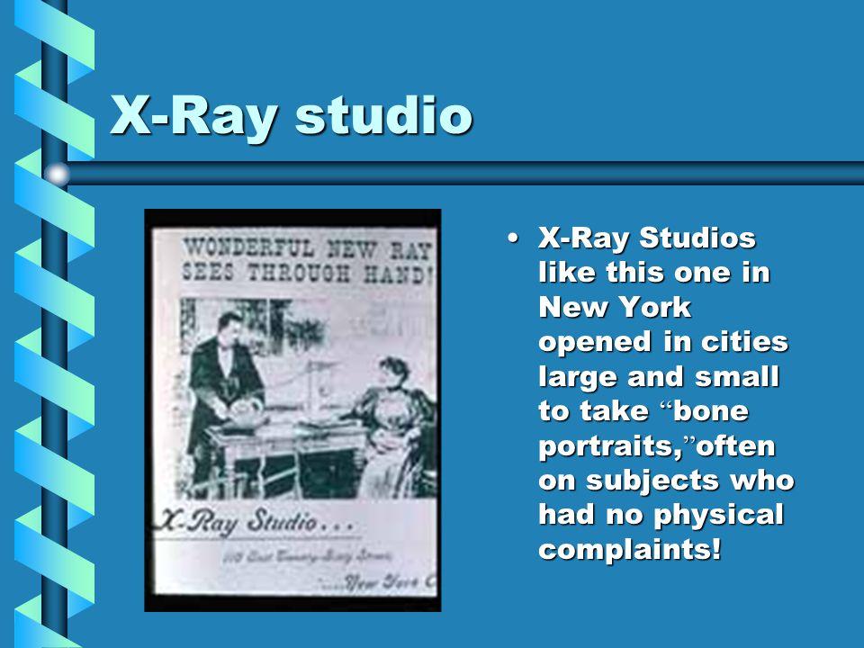 X-Ray studio