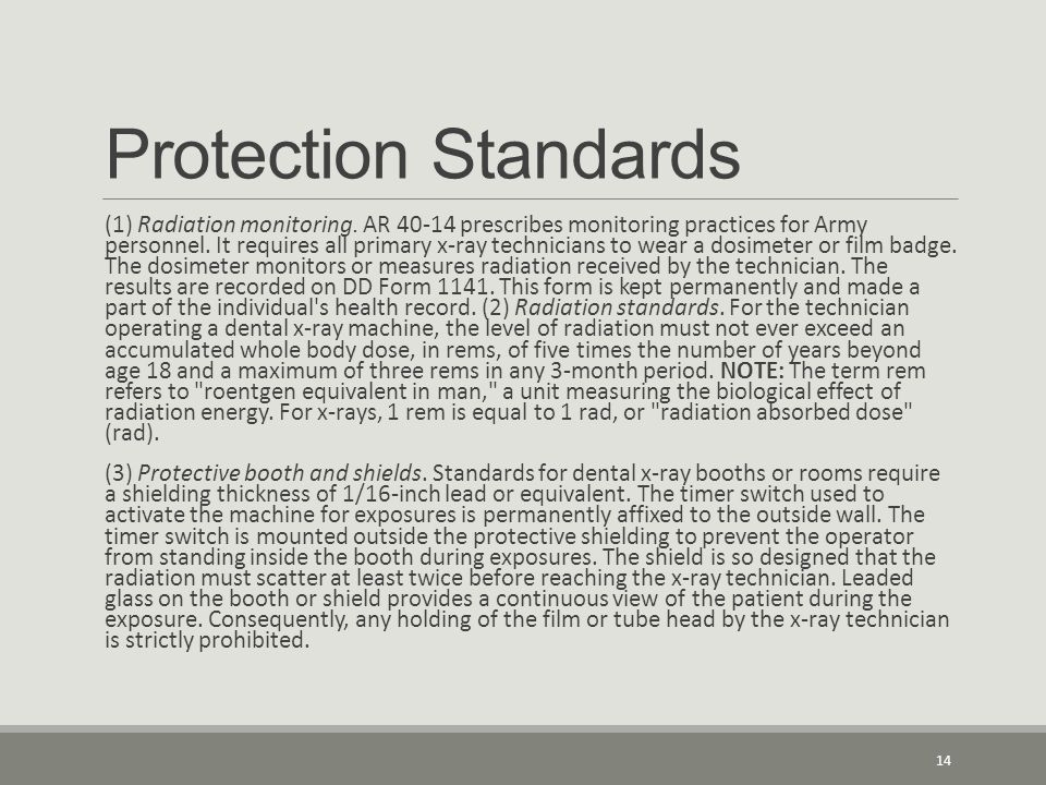 Protection Standards