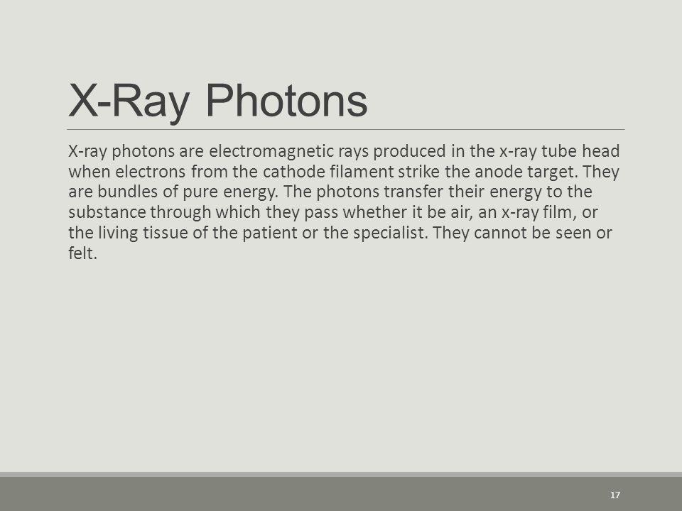 X-Ray Photons