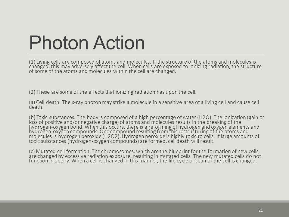 Photon Action
