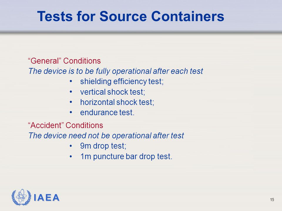 Tests for Source Containers