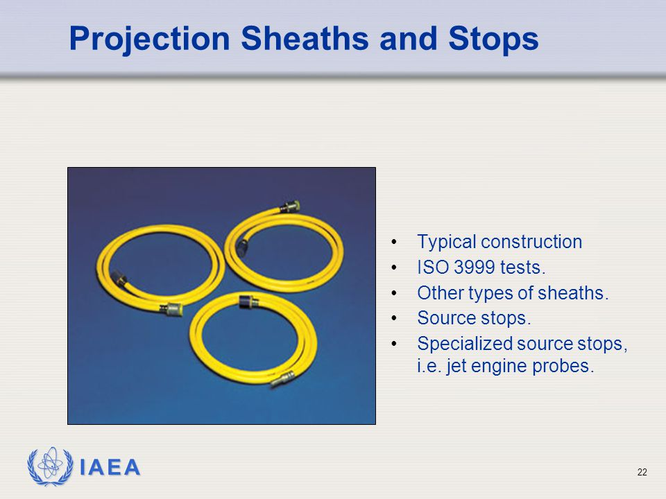 Projection Sheaths and Stops