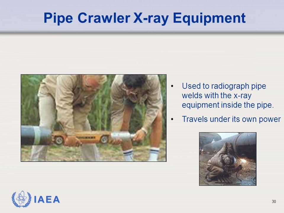 Pipe Crawler X-ray Equipment
