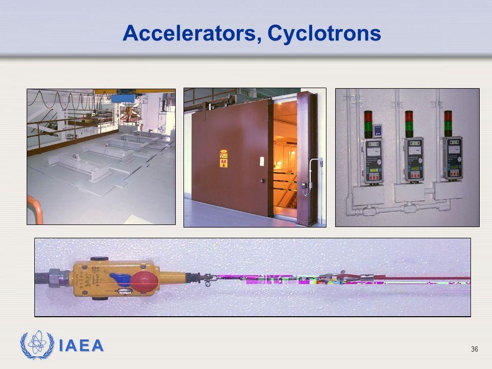Accelerators, Cyclotrons