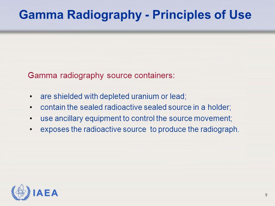 Gamma Radiography - Principles of Use