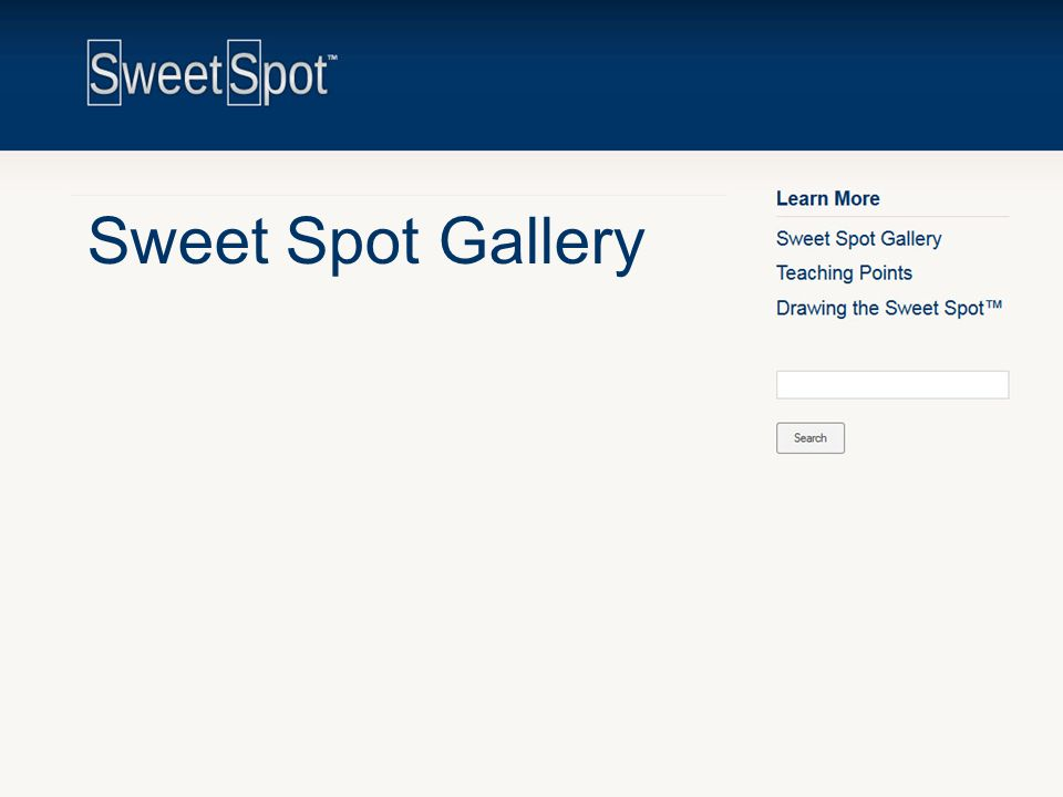 Sweet Spot Gallery