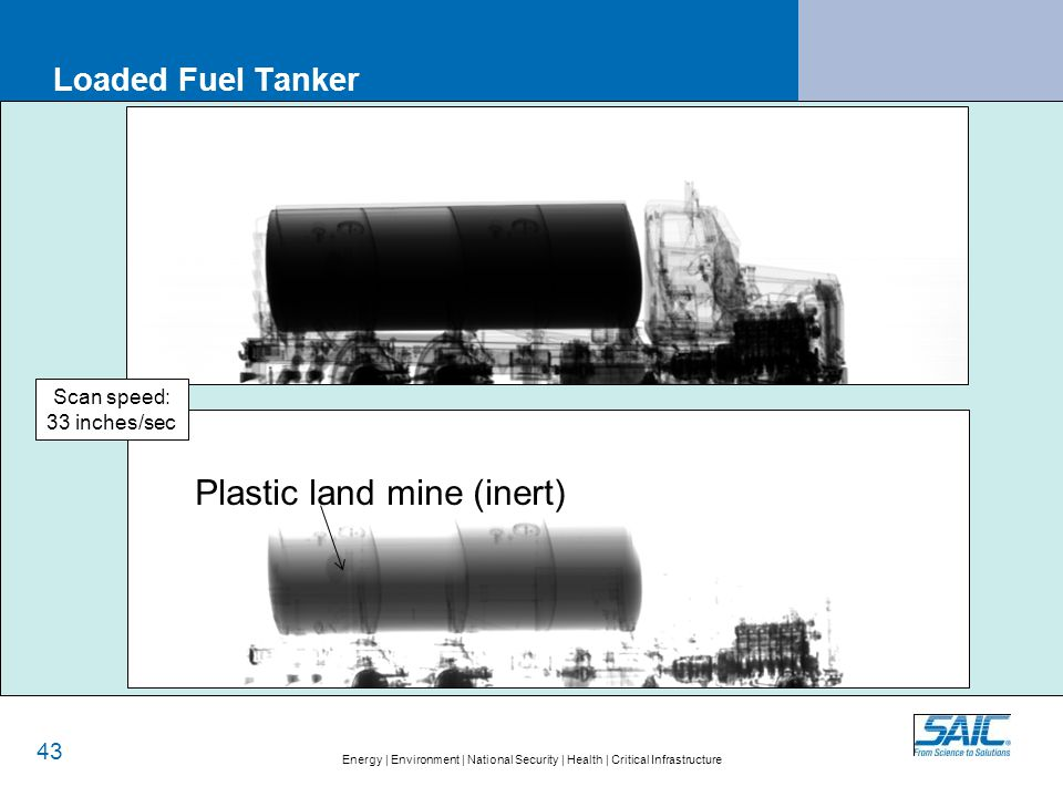 Why detecting explosive in loaded tanker truck is important