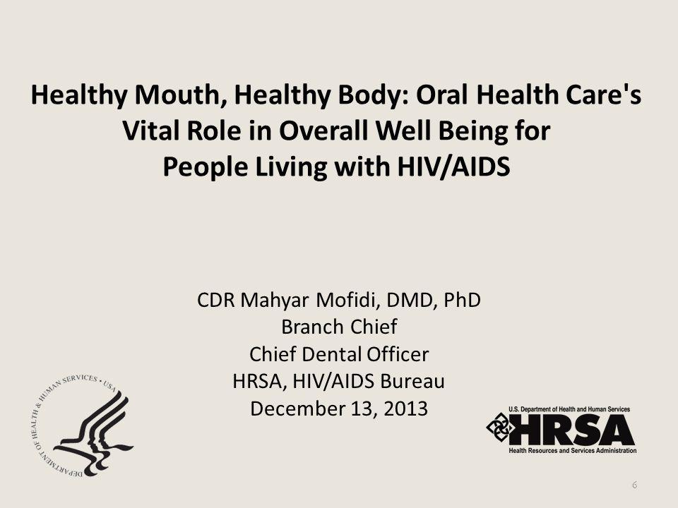 CDR Mahyar Mofidi, DMD, PhD