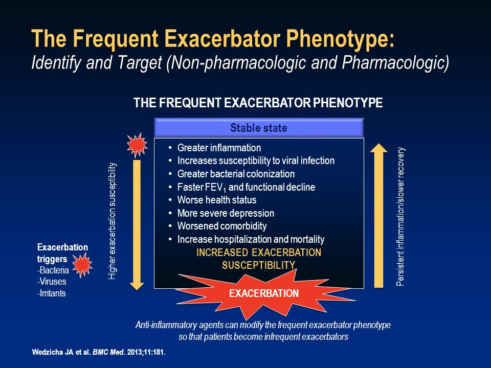 The Frequent Exacerbator Phenotype: Identify and Target (Non-pharmacologic and Pharmacologic)