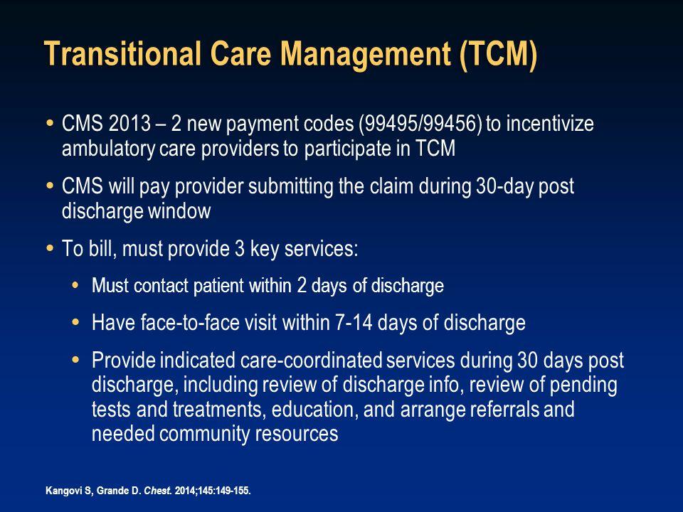 Transitional Care Management (TCM)