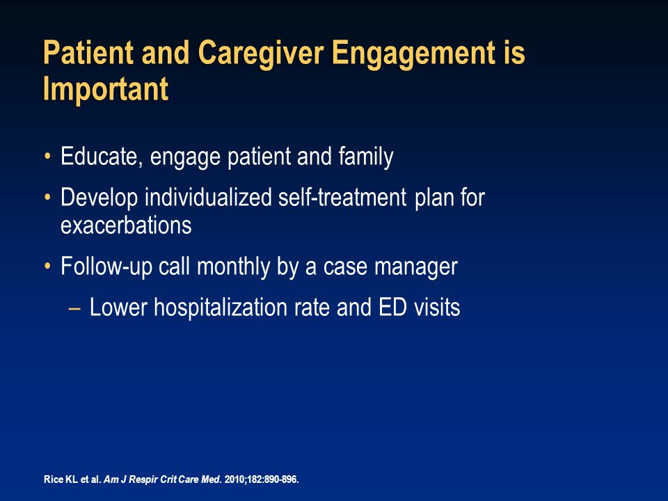 Patient and Caregiver Engagement is Important