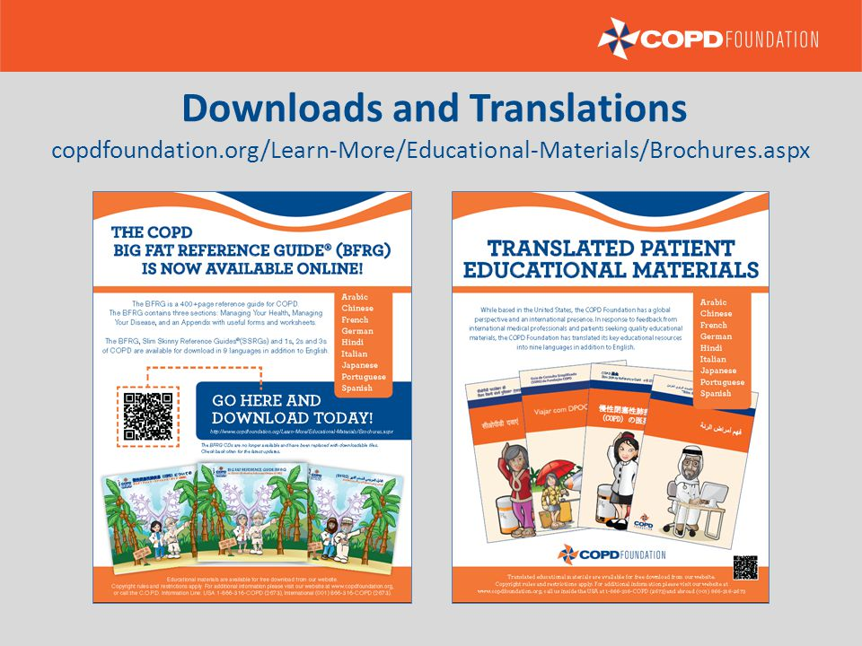 Downloads and Translations