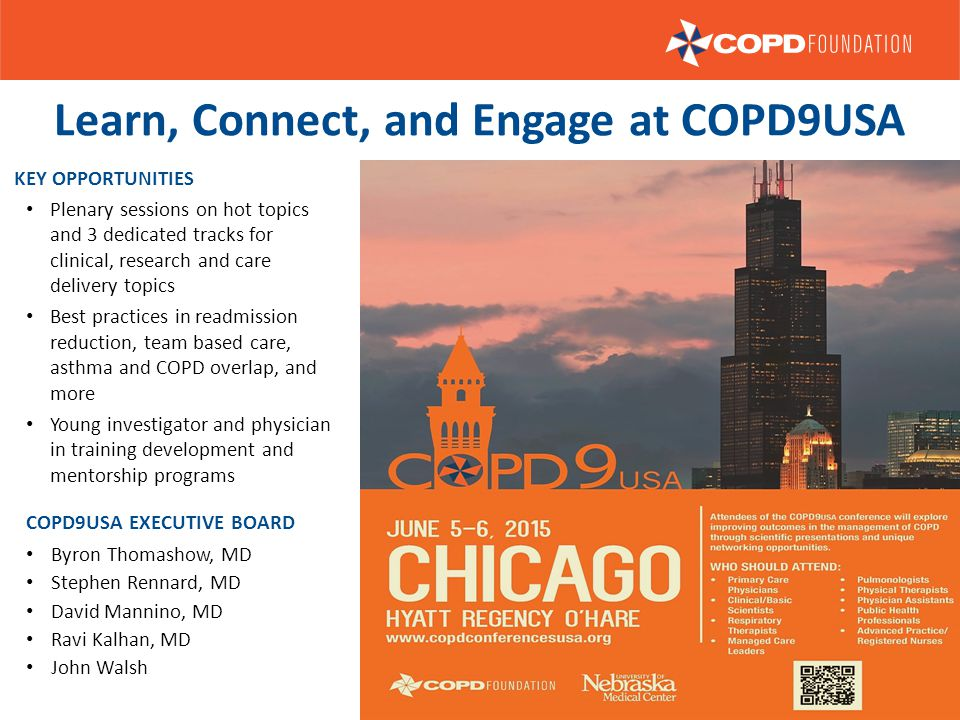 Learn, Connect, and Engage at COPD9USA