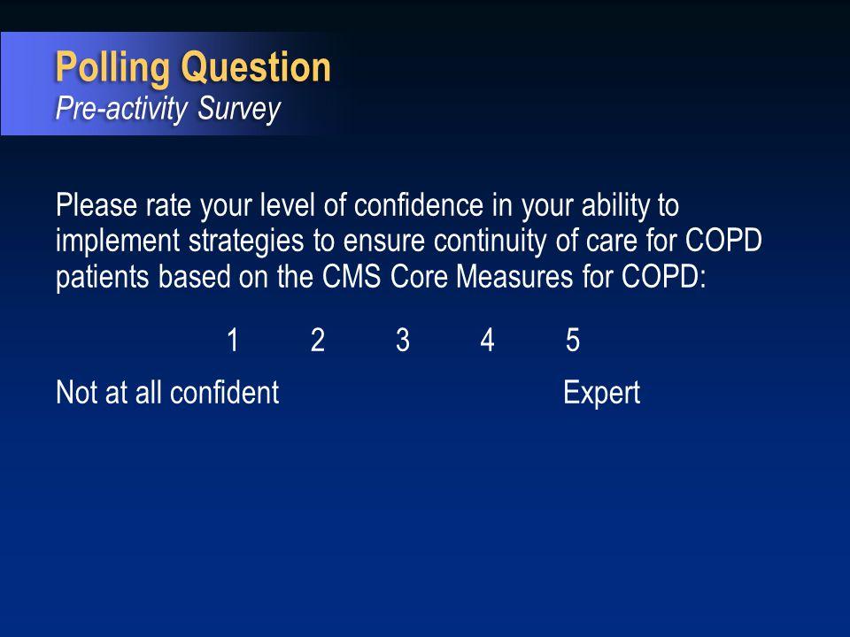 Polling Question Pre-activity Survey