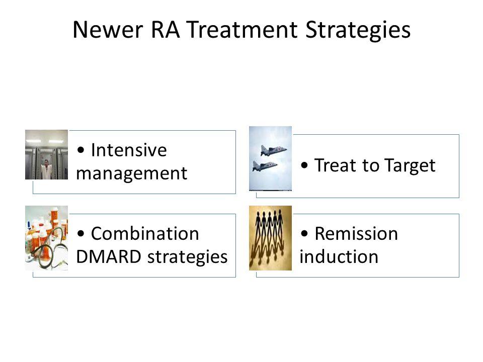 Newer RA Treatment Strategies