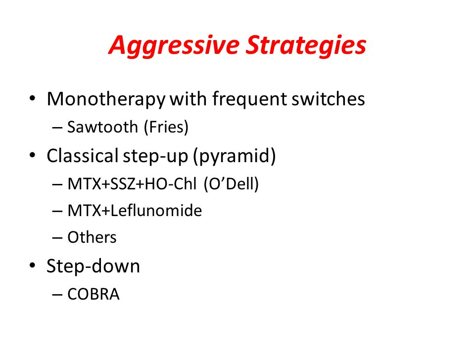 Aggressive Strategies