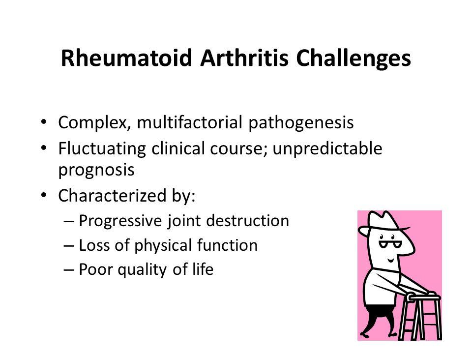 Rheumatoid Arthritis Challenges