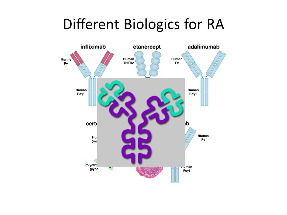 Different Biologics for RA