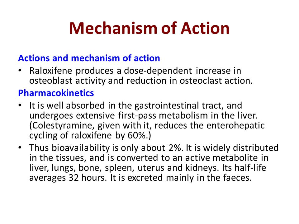 Mechanism of Action Actions and mechanism of action