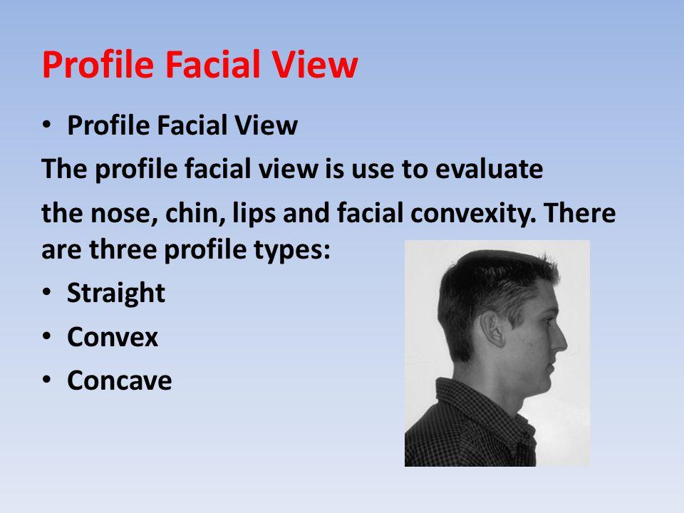 Profile Facial View Profile Facial View