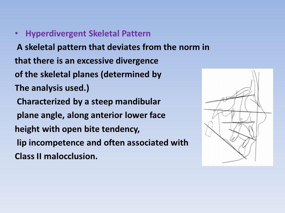 Hyperdivergent Skeletal Pattern