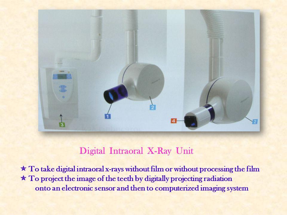 Digital Intraoral X-Ray Unit
