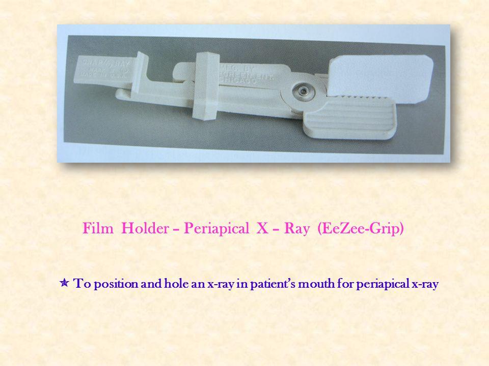 Film Holder – Periapical X – Ray (EeZee-Grip)