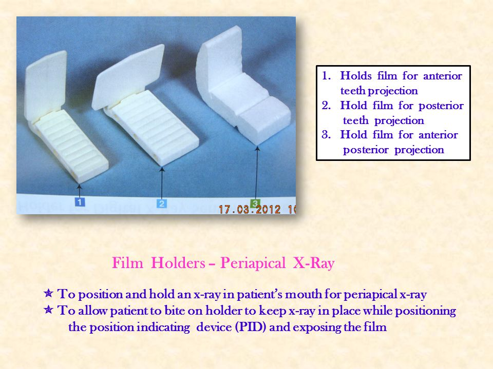 Film Holders – Periapical X-Ray