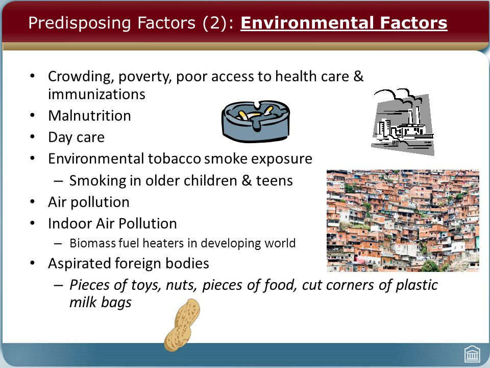 Environmental factors on teens