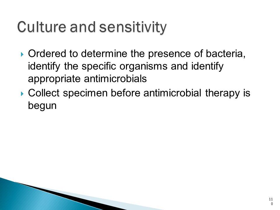 Culture and sensitivity