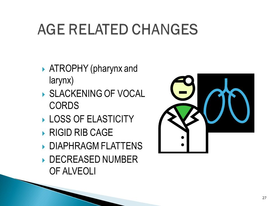 AGE RELATED CHANGES ATROPHY (pharynx and larynx)