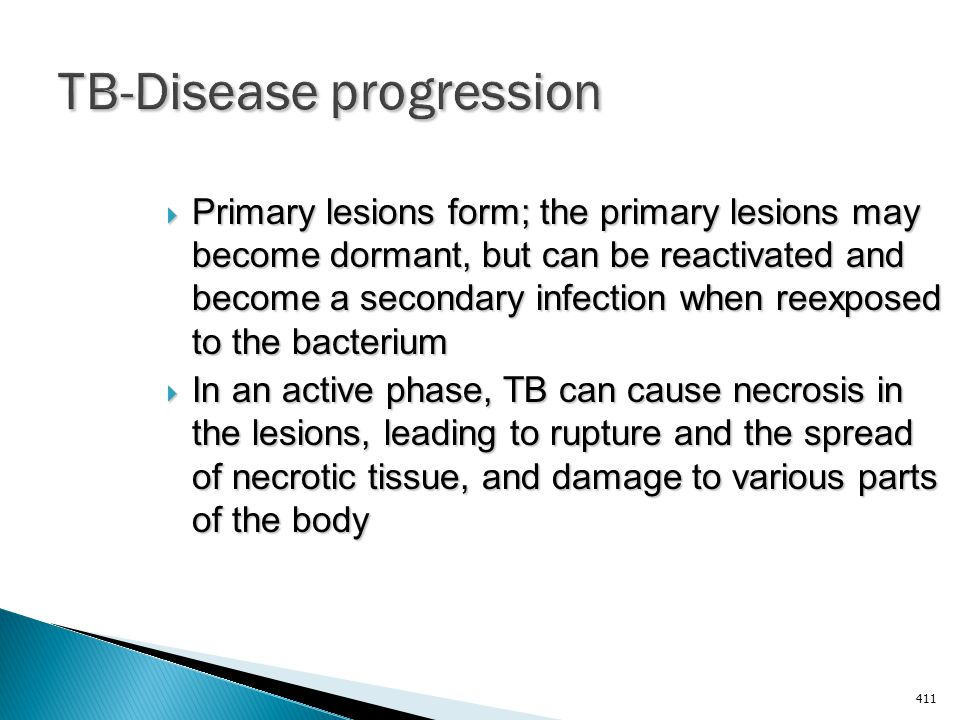 TB-Disease progression