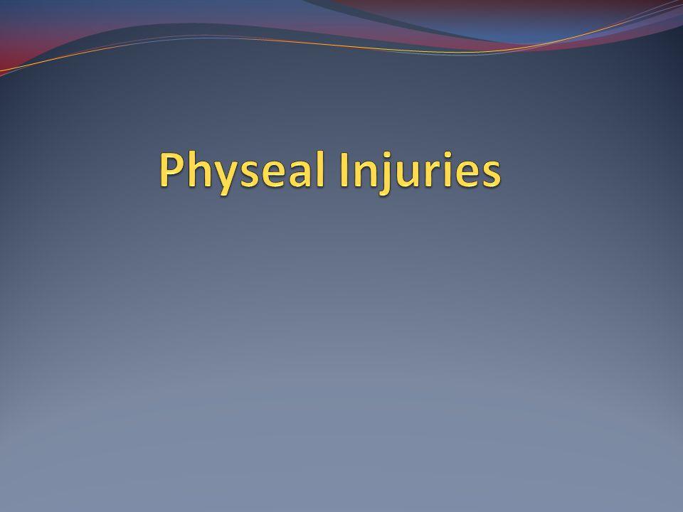 Physeal Injuries