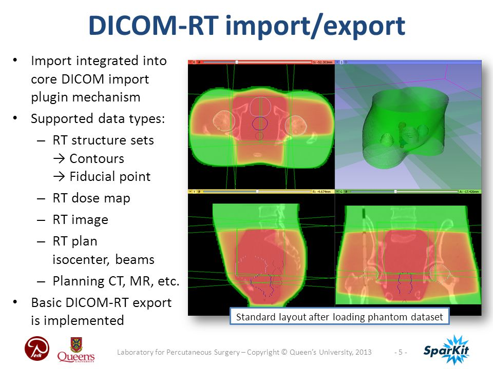 DICOM-RT import/export