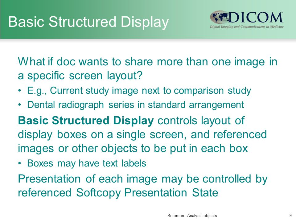 Basic Structured Display