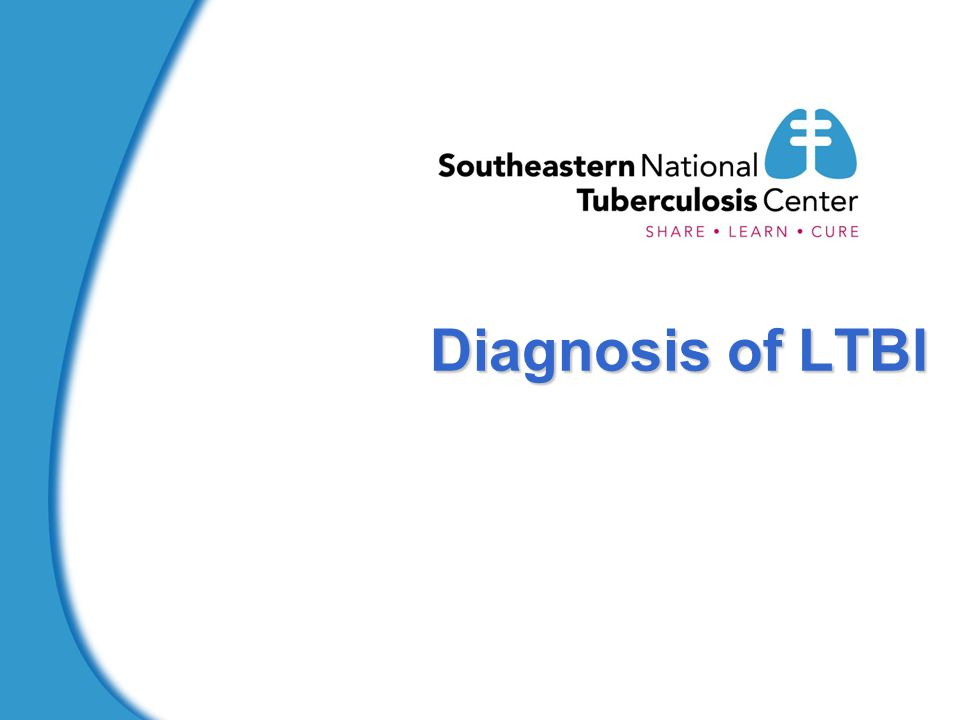 Diagnosis of LTBI