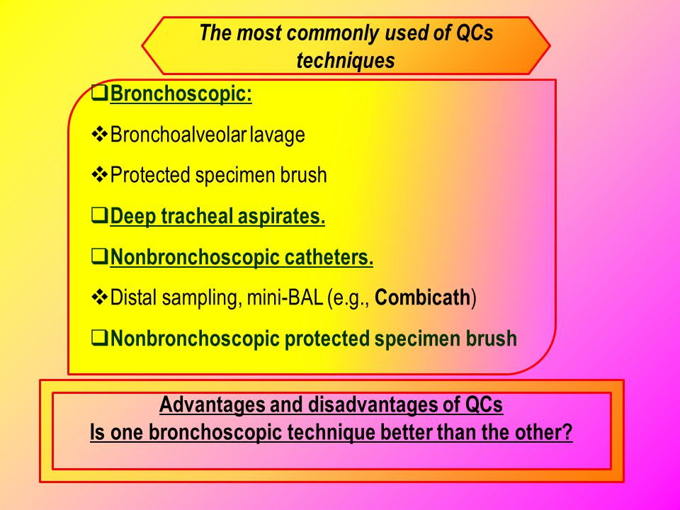 The most commonly used of QCs techniques