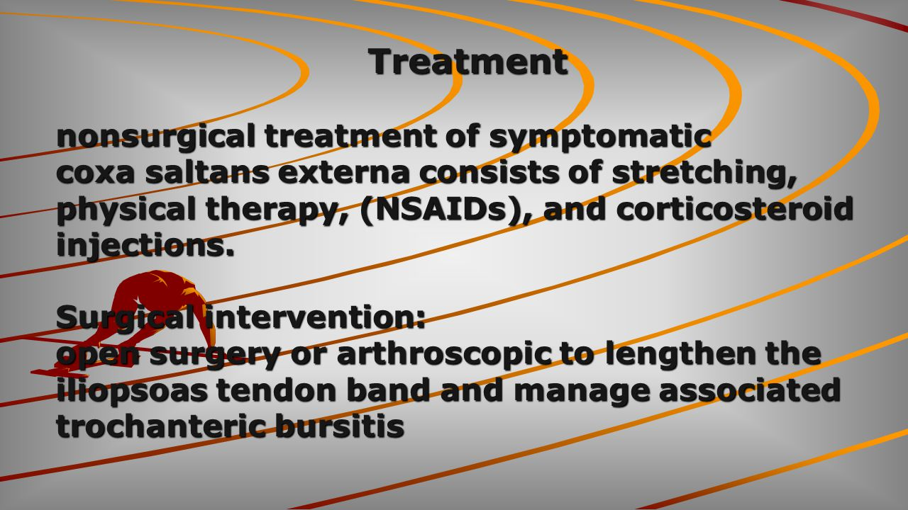 Treatment nonsurgical treatment of symptomatic