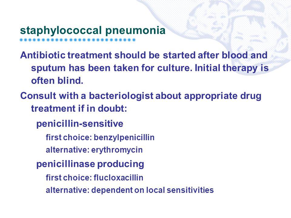 staphylococcal pneumonia