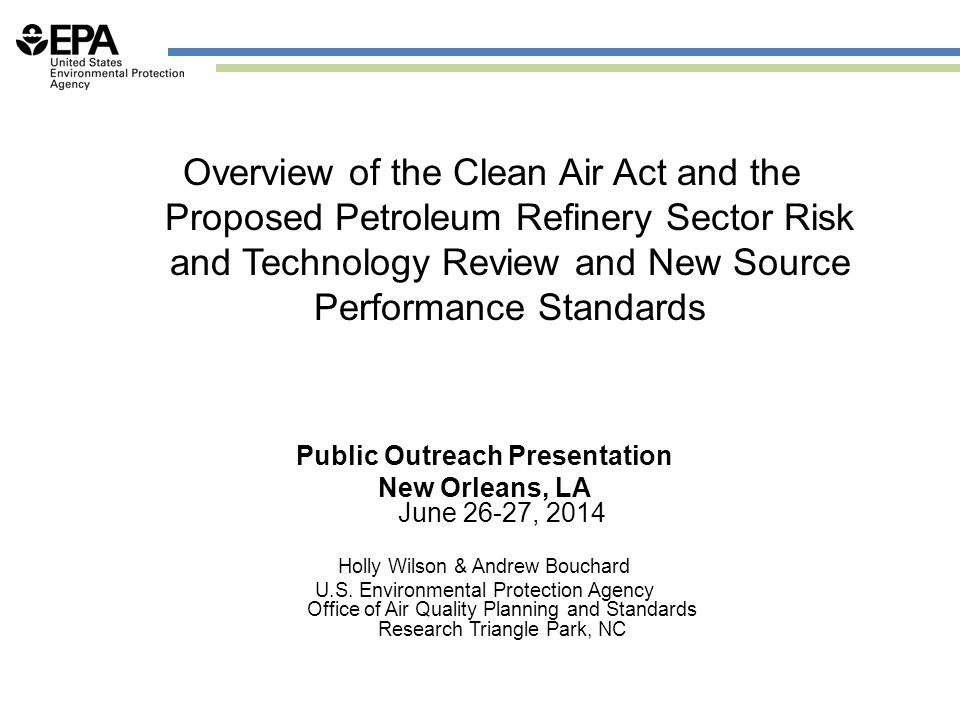 Public Outreach Presentation