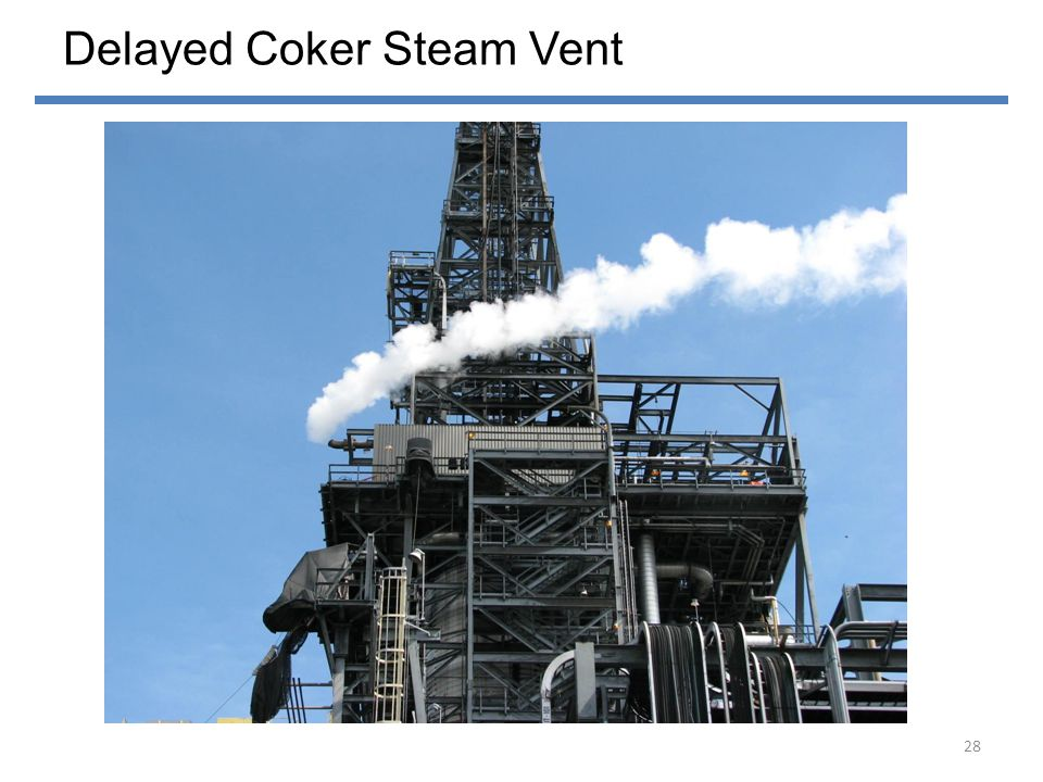 Delayed Coker Steam Vent