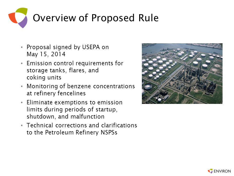 Overview of Proposed Rule