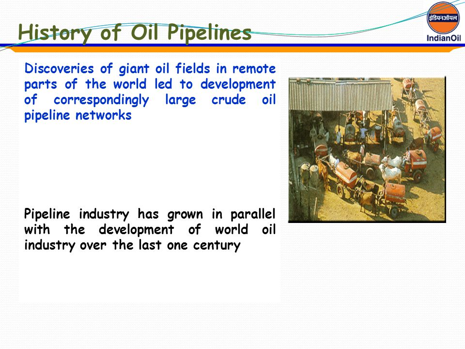 History of Oil Pipelines