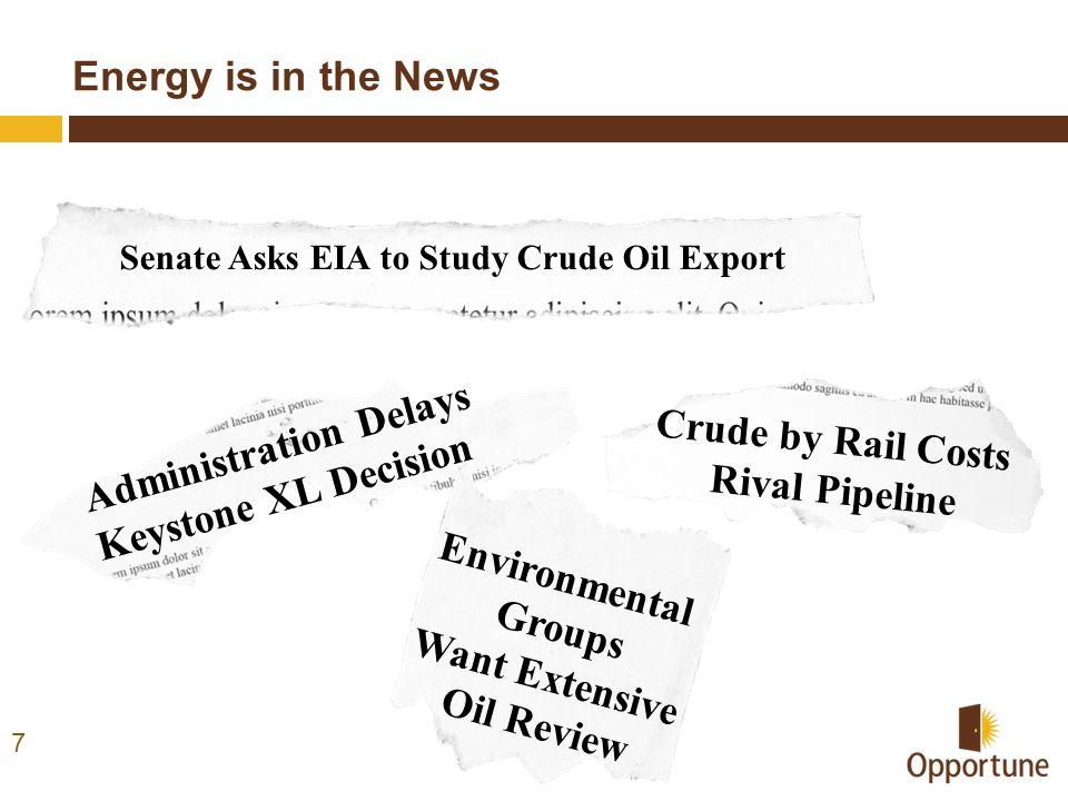 Senate Asks EIA to Study Crude Oil Export