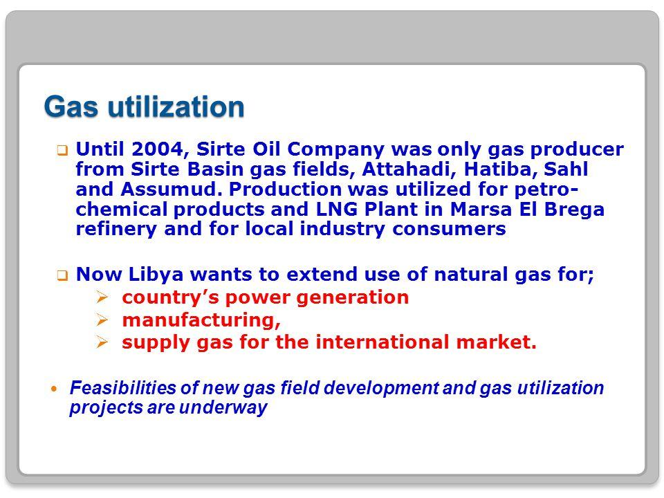 Gas utilization