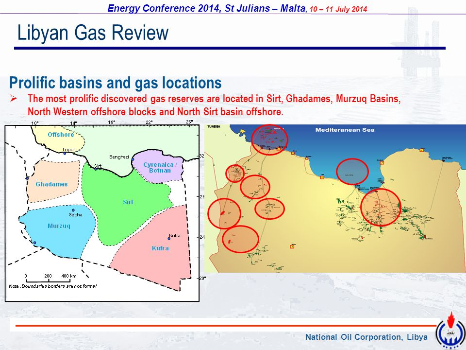 Libyan Gas Review Prolific basins and gas locations